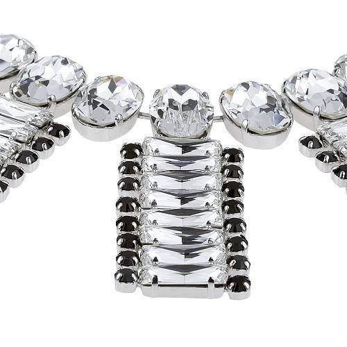 Colier cristale Swarovski 1170 Crystal & Jet 1
