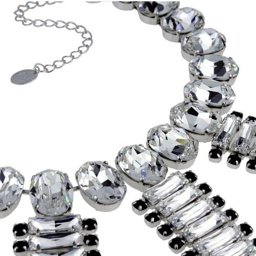 Colier cristale Swarovski 1170 Crystal & Jet 2