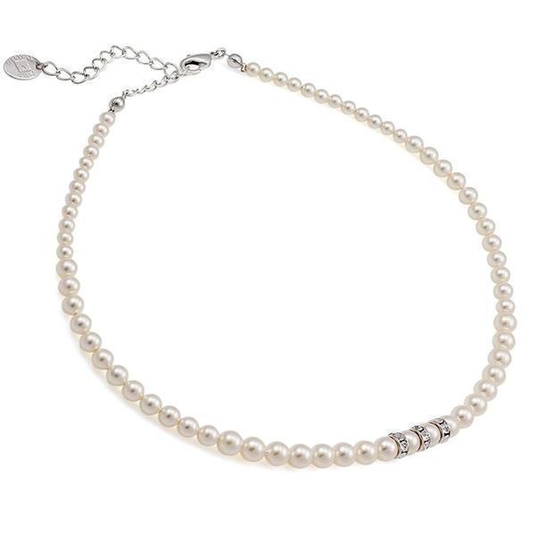 Colier perle Swarovski 1204 White Pearl [0]