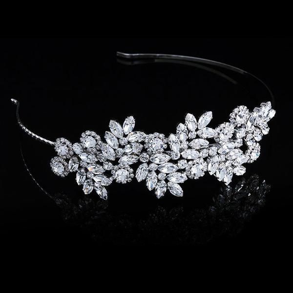 Diadema mireasa cristale Swarovski Adele 8 Crystal 1