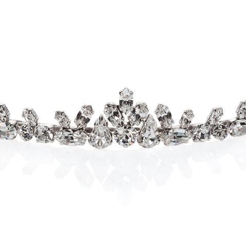 Diadema mireasa cristale Swarovski Fine Crystal 1