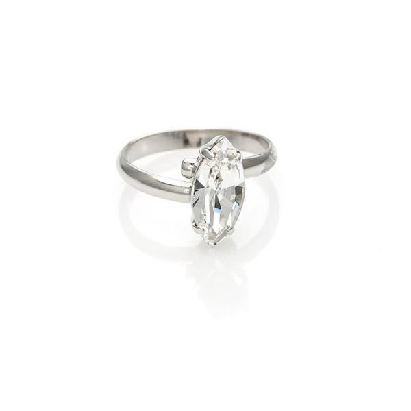 Inel cristale Swarovski 7024 Crystal [0]