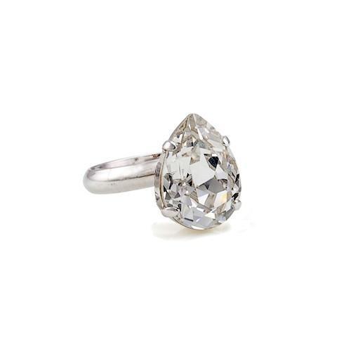 Inel cristale Swarovski 7033 Crystal [0]