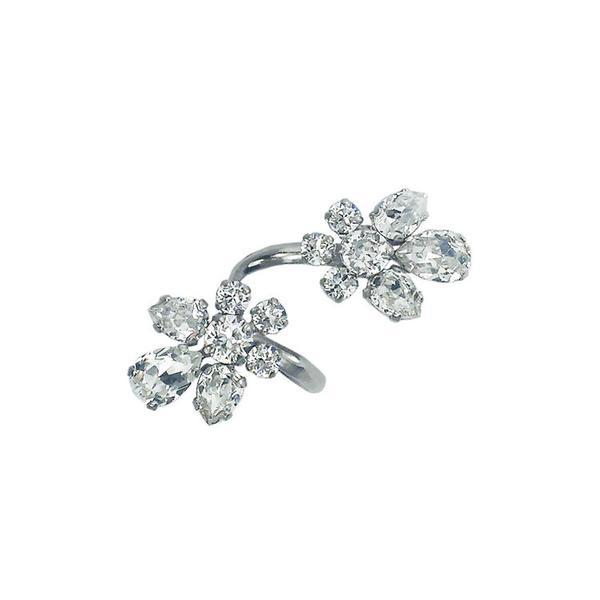 Inel cristale Swarovski 7059 Crystal 0
