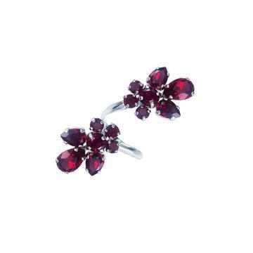 Inel cristale Swarovski 7059 Siam [0]