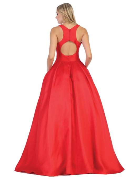 Rochie France Mode M1721 rosie lunga de seara princess [1]