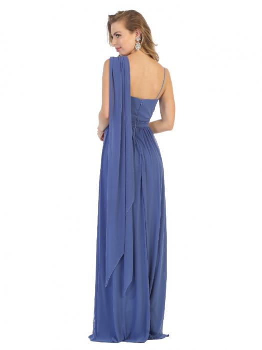 Rochie France Mode M1746 bleu lunga de seara clos [2]
