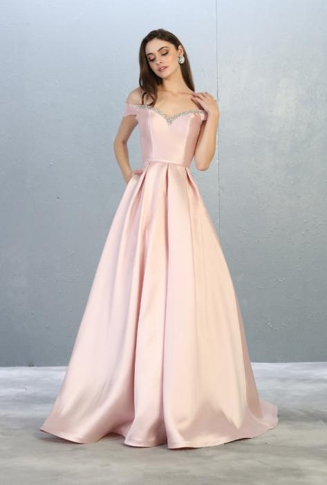 Rochie France Mode M1784 roz lunga de seara princess [0]