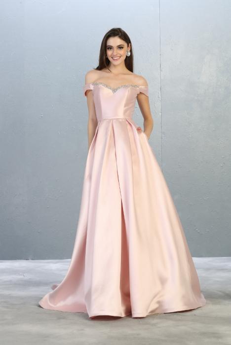 Rochie France Mode M1784 roz lunga de seara princess [1]