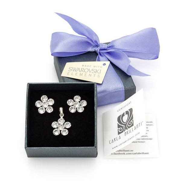 Set cadou cristale Swarovski Ambra Crystal [0]