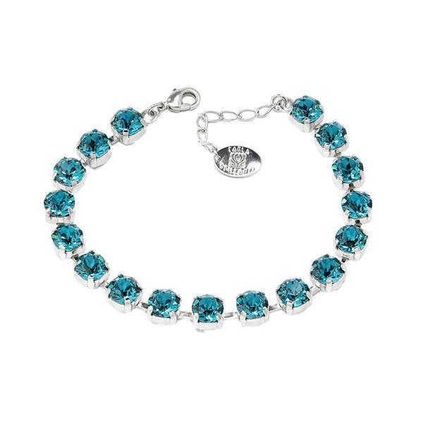 Set cadou cristale Swarovski Blue Zircon 1