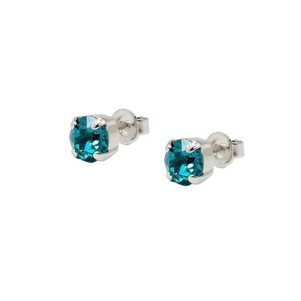 Set cadou cristale Swarovski Blue Zircon 2