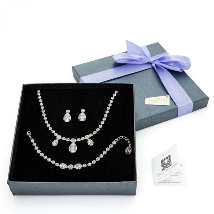 Set cadou cristale Swarovski Cassandra Crystal 0