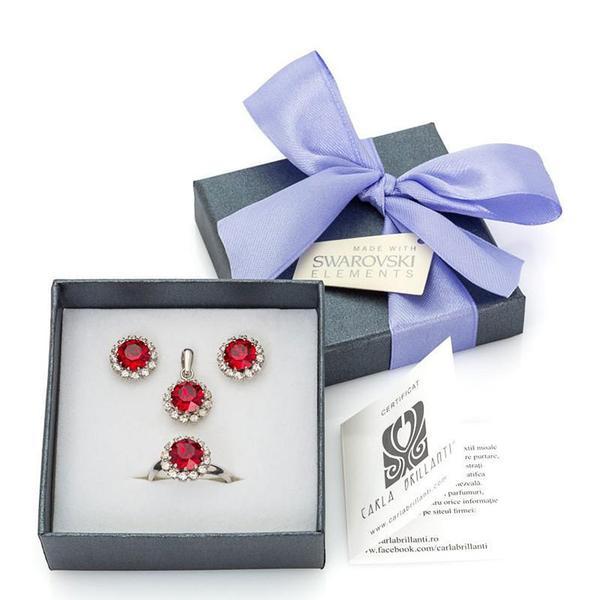 Set cadou cristale Swarovski Corinne Siam 0