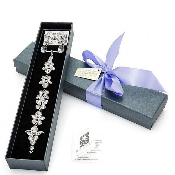 Set cadou cristale Swarovski Elise Crystal [0]