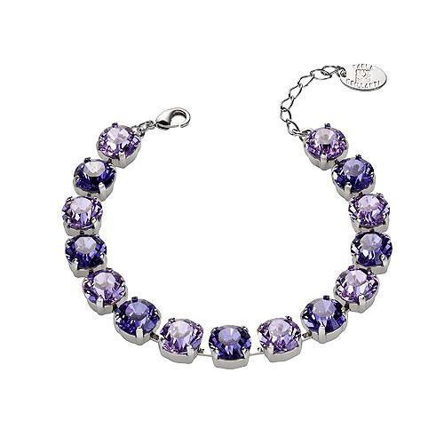 Set cadou cristale Swarovski Jeny Violet &Tanzanite 1