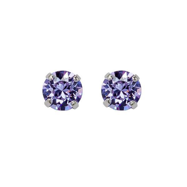 Set cadou cristale Swarovski Jeny Violet &Tanzanite 2