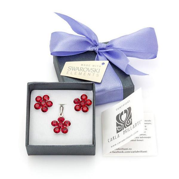 Set cadou cristale Swarovski Marla Siam 0
