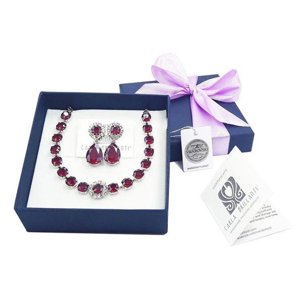 Set cadou cristale Swarovski Royal Red 0