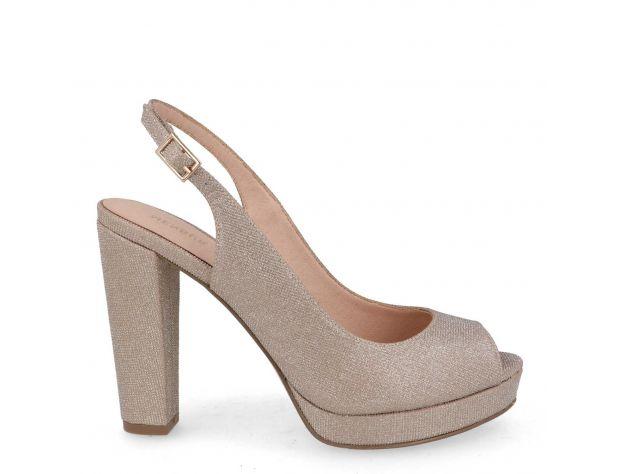 Sandale de ocazie aurii Menbur Bardone Metales 0