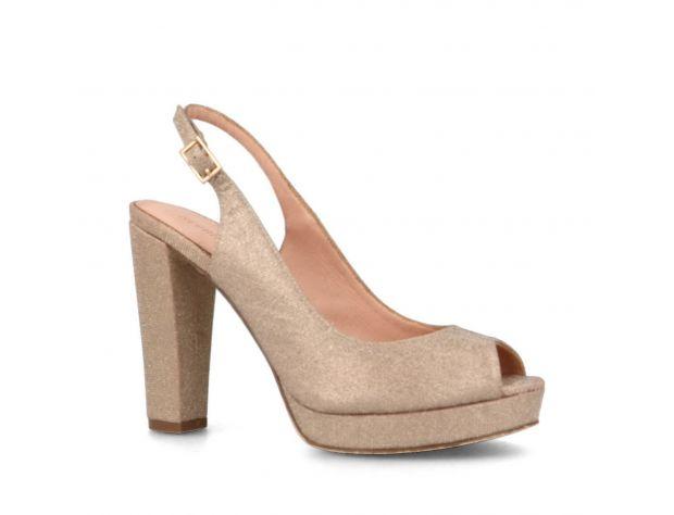 Sandale de ocazie aurii Menbur Bardone Metales 1