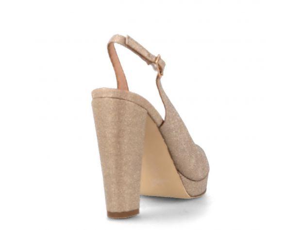 Sandale de ocazie aurii Menbur Bardone Metales 2