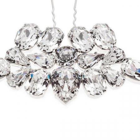 Accesoriu par mireasa cristale Swarovski 8162 Crystal1