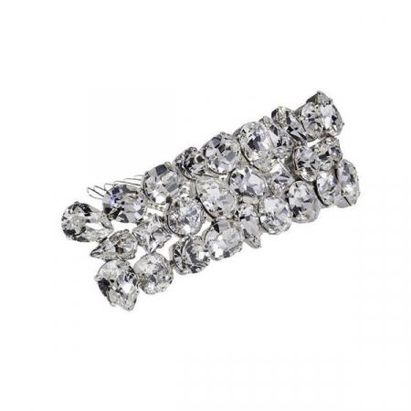 Accesoriu par mireasa cristale Swarovski 8167 Crystal0