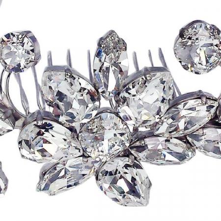 Accesoriu par mireasa cristale Swarovski 8171 Crystal4