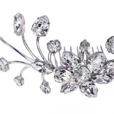 Accesoriu par mireasa cristale Swarovski 8171 Crystal5