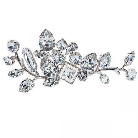 Accesoriu par mireasa cristale Swarovski 8191 Crystal [0]
