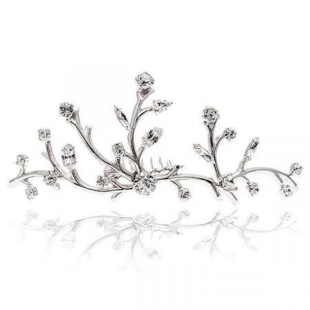 Accesoriu par mireasa cristale Swarovski Ariana Crystal [1]
