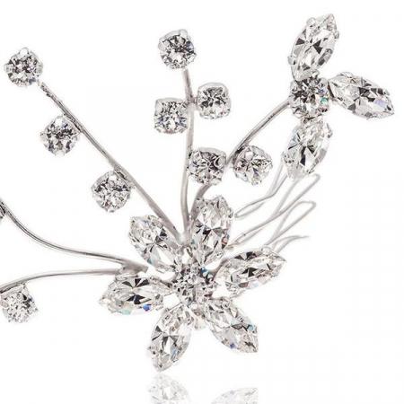 Accesoriu par mireasa cristale Swarovski Cherry Branch Crystal2