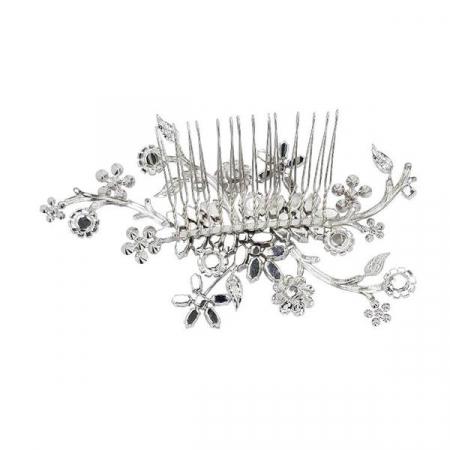 Accesoriu par mireasa cristale Swarovski Endless Night Crystal [2]