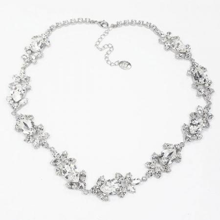 Accesoriu par mireasa cristale Swarovski Ivy Crystal0