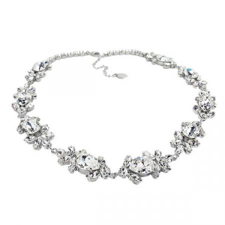 Accesoriu par mireasa cristale Swarovski Ivy Crystal3