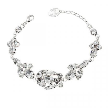 Bratara cristale Swarovski Josephine 2 Crystal0