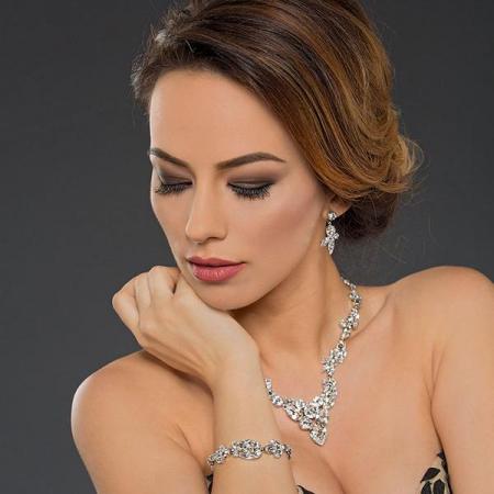 Bratara cristale Swarovski Josephine 2 Crystal2