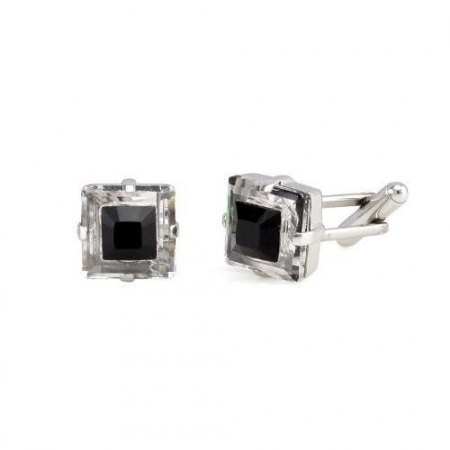 Butoni cristale Swarovski Black & White 4 [1]