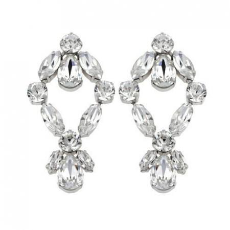 Cercei cristale Swarovski 3035 Crystal0