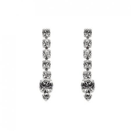 Cercei cristale Swarovski 3066L Crystal0