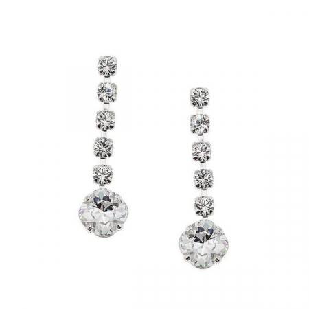 Cercei cristale Swarovski 3075L Crystal0