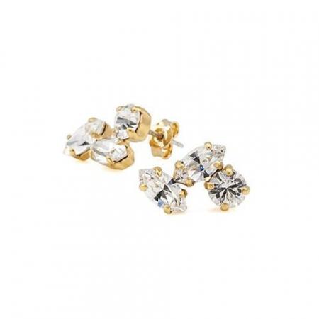 Cercei cristale Swarovski 3116 Crystal G0