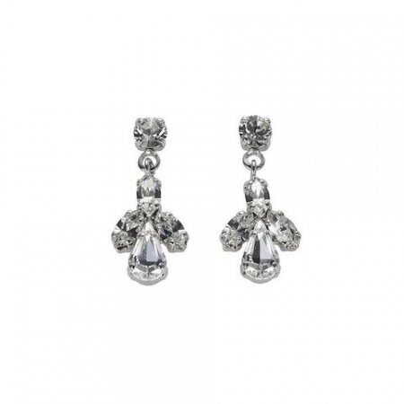 Cercei cristale Swarovski 3173 Crystal0