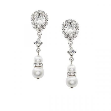Cercei cristale Swarovski 3356 Crystal & Pearls [0]