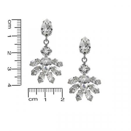 Cercei cristale Swarovski Abby Crystal2