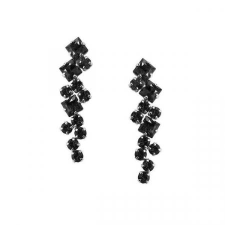 Cercei cristale Swarovski Annie Jet1