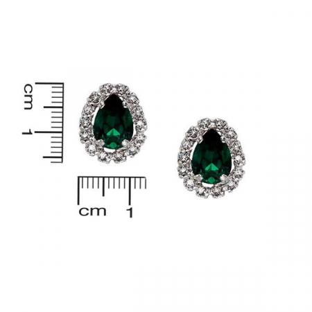 Cercei cristale Swarovski Esme Emerald [1]