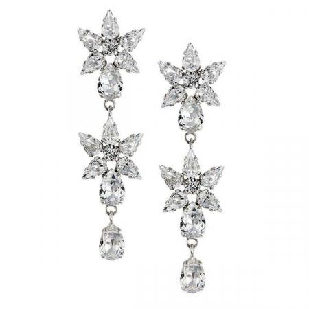 Cercei cristale Swarovski Georgia Crystal0