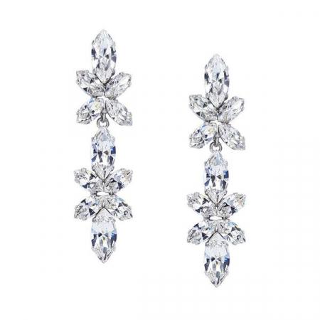 Cercei cristale Swarovski Lorelei Crystal0